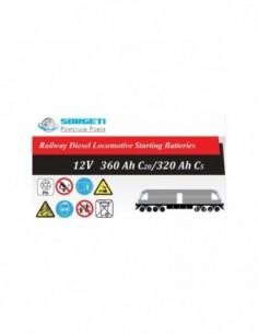 Baterie tractiune ZAP tip LDE 12V - 360Ah (pentru locomotive) - Sorgeti.ro