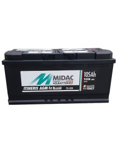 Baterie auto Midac Itineris AGM 105Ah - Sorgeti.ro