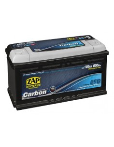 Baterie auto ZAP CARBON EFB Start & Stop 100Ah - Sorgeti.ro