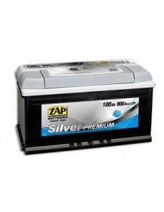 Baterie auto ZAP Silver Premium 100Ah - Sorgeti.ro