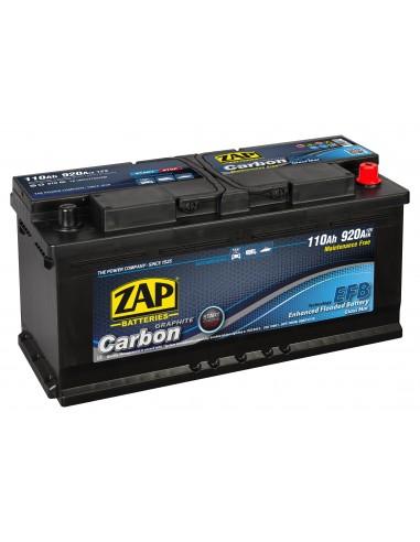 Baterie auto ZAP CARBON EFB Start & Stop 110Ah - Sorgeti.ro